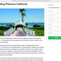 Wedding Planners California